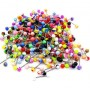 Lot 100pcs Tongue Navel Rings Mixed Color Stainless Barbell Wholesale